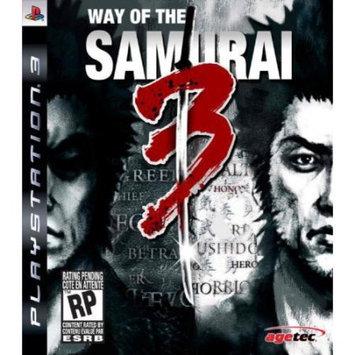 Way of the Samurai 3 Playstation3 Game agetec