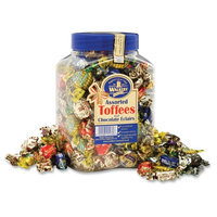 Office Snax Walkers Assorted Toffee, 2 3/4 lb.