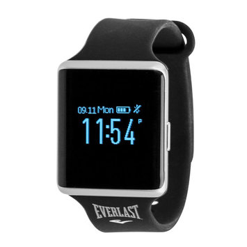 Everlast TR10 Blood Pressure and Heart Rate Monitor Activity Tracker; Includes Caller ID and Message Previews