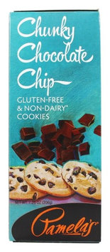 Pamela's Products - Gourmet All Natural Cookies Gluten Free Chunky Chocolate Chip - 7.25 oz (pack of 12)