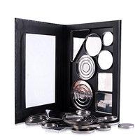 Empty Magnetic Palette Makeup Palette Pad Black Large Pattern DIY Palette New DMZing (ESB-25CM14CM1.2CM)
