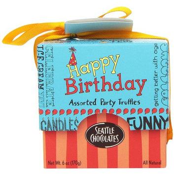 Seattle Chocolates Gift Box, Happy Birthday, 6 Ounce [Happy Birthday]