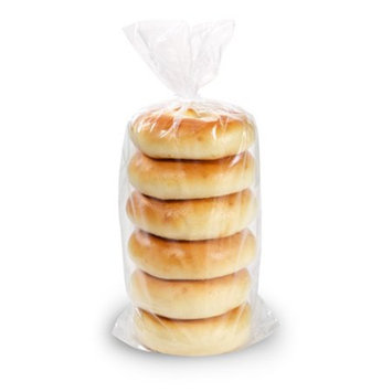 Fiera Foods Bagels Plain 6 pack