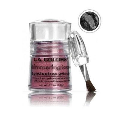 (3 Pack) LA COLORS Shimmering Loose Eyeshadow - Black Pearl