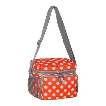 Everest Cooler/Lunch Bag Orange/White Dot - Everest Travel Coolers