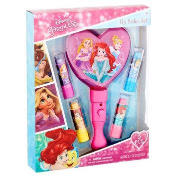 Townleygirl Townley Girl Disney Princess 4PK Lip Balm with Light Up Mirror