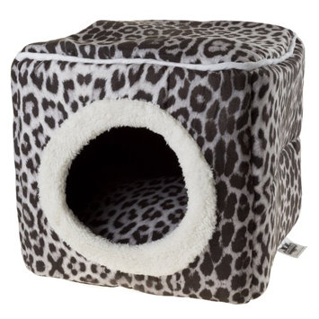 Petmaker Cat Cave Pet Bed Gray / Black