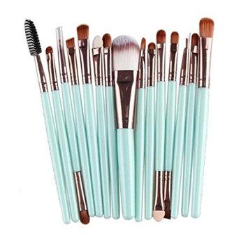 SMTSMT Super Soft 15pcs Makeup Brush Set tools Make-up Toiletry Kit