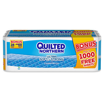 Quilted Northern Ultra Soft & Strong, 24 Double Rolls, Bonus Pack
