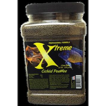 Xtreme Aquatic Foods Marine PeeWee Krill/Shrimp/Herring/Squid/Octopus Marine Proteins, Slow-Sinking 1.5mm Pellets, 42 oz