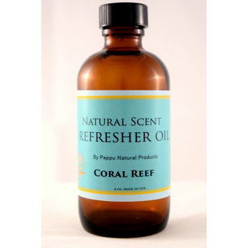 Pappu Natural Products Corp. Pappu Refresher Oil 4 oz Coral Reef *All Natural Aromatherapeutic & Antioxidant