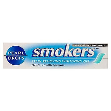 Pearl Drops Smokers Stain Removing Whitening Gel 50 Ml Toothpaste