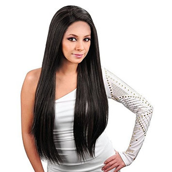 Jet Black 100% Human Hair Extensions Weft Weave - Sew In or Glue In []