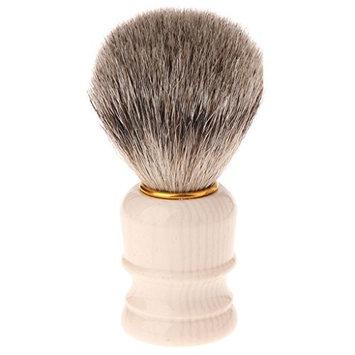 puhoon Shaving Brushes, Resin Handle Shaving Bear Brush Badger Hair For Men Father Gift Barber Tool 1Pc, Engineered for the Best Shave, for Safety All Razor, 48#