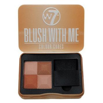 W7 Blush With Me Colour Cubes Blusher Patte 8.5g- Cassie Mac