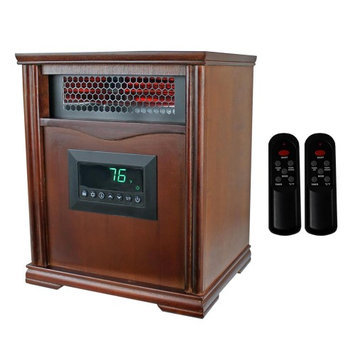 Lifesmart LifeSmart Medium-Room Infrared Heater with 2 Remote Controls