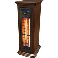 Refurbished LifeSmart Infrared Heater Tower, Wood