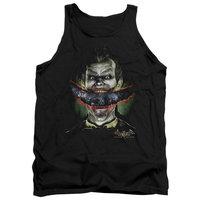 Batman Aa Crazy Lips Mens Tank Top Shirt