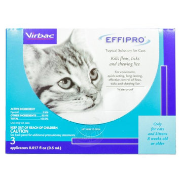 Effipro Flea & Tick Topical Solution for Cats (3 count)