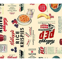 Kellogg's Cereal And Fruit, Cream, 100% Cotton, 43/44