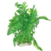 Aquarium Green Artificial Aquatic Plants Decor 12