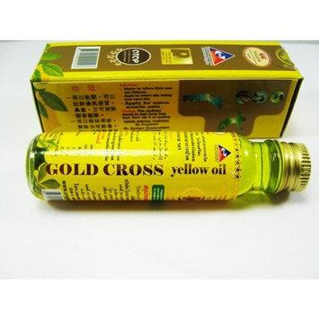 Thai Herbal Gold Cross Yellow Oil 24 Ml.