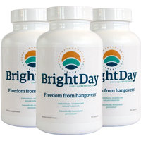 BrightDay Hangover Prevention Pills - 100% Guaranteed - Cure Hangovers Before.