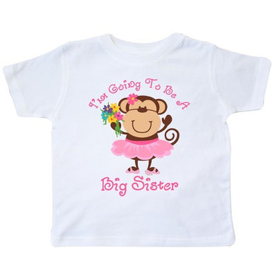 Monkey Future Big Sister Toddler T-Shirt [baby_clothing_size: baby_clothing_size-2t]