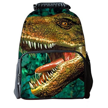 Enpi 3d Dinosaur Backpack 3d Deep Stereographic Felt Fabric