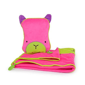 Trunki SnooziHedz Travel Pillow and Blanket - Betsy (Pink)