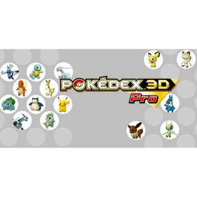 Nintendo PokDex 3D Pro 3DS (Email Delivery)
