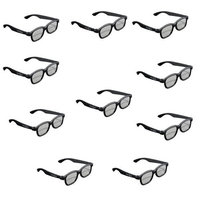 Toshiba Natural [passive] 3d Glasses - Party Pack 10 Pairs [fpt-p100up]