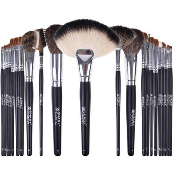 SHANY NY Collection Pro Brush Set with Orange Cotton Pouch, 22 pc
