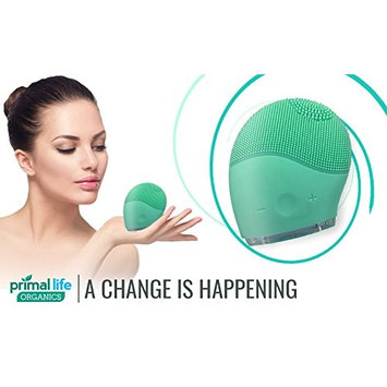 Primal Life Organic's Quiver Sonic Facial Massager/Cleaner; Powerful vibration 8500 RPM
