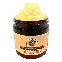 Organic Neem and Tumeric Facial Scrub by Oslove Organics-USDA certified, brightens and evens skin tone.