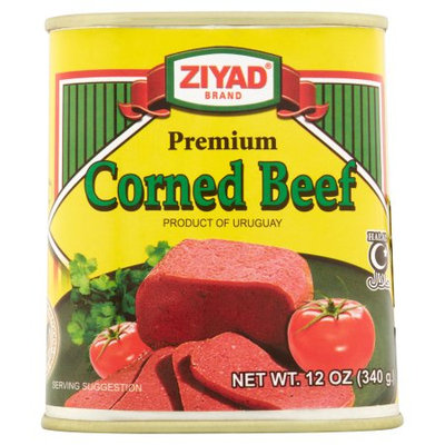 Ziyad Brothers Importing Ziyad, Meat Lunch Corned Beef, 12 Oz (Pack Of 24)