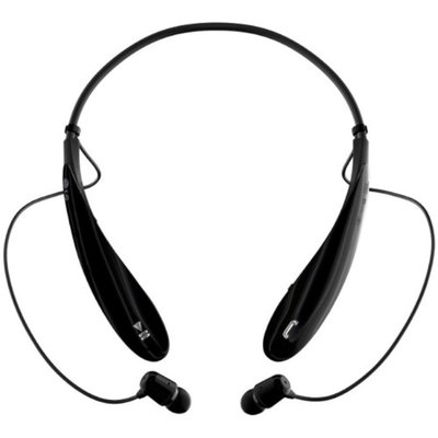 Insten Dual Pairing Sports Neckband Bluetooth Stereo Headset, Black
