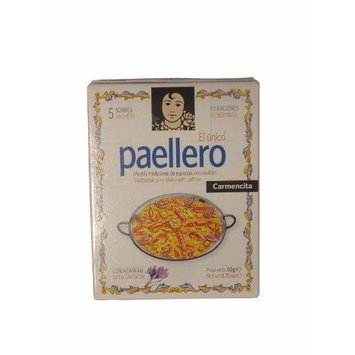 Paellero Paella Seasoning from Spain (5 packets)