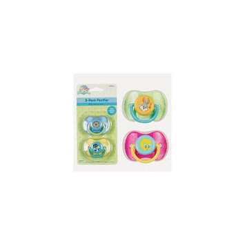Pacifiers w/ Travel Case - 2pack