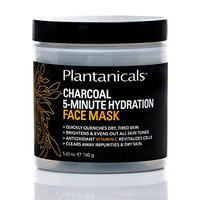 Plantanicals Face Mask 160 g (5.65 oz) (Charcoal 5 Minutes Hydration)