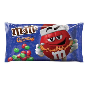 Mars Snackfood M'S Holiday Caramel Chocolate Christmas Candy 10.2-Ounce Bag