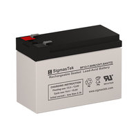 CSB Battery HR1234W F2 Battery Replacement (12V 7.5AH SLA Battery )