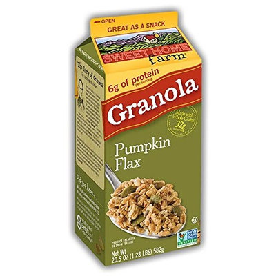 Sweet Home Farm Pumpkin Flax Granola 20 oz (Pack of 3)