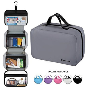 """Hanging Travel Toiletry Bag for Men and Women 