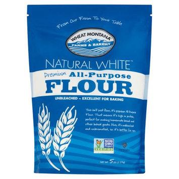 Wheat Montana Farms & Bakery Wheat Montana, Flour Wheat Ntrl Wht, 5 Lb (Pack Of 8)