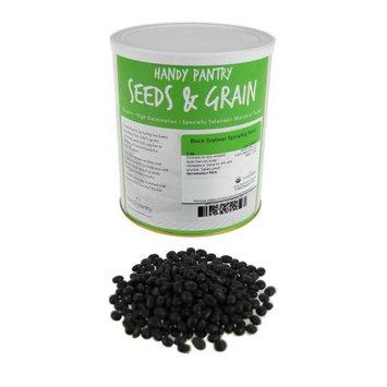 Handy Pantry Organic Black Soy Beans- Soybeans, Tofu, Soymilk, Food Storage-5 Lb