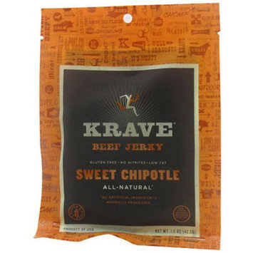 Krave Sweet Chipotle Beef Jerky, 1.5 oz