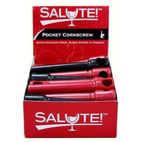 Navajo Incorporated SALUTE11020 Pocket Corkscrew With Display Case Pack Of 25