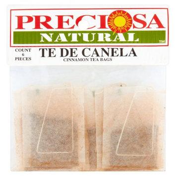 Proveedora De Alimentos Del Pacifico Y Cia Preciosa Natural Cinnamon Tea Bags, 6 count