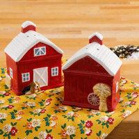 Gibson Overseas, Inc. The Pioneer Woman Rustic Barn Salt and Pepper Shaker Set